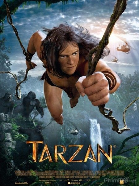 Tarzan - Cậu Bé Rừng Xanh-Tarzan 3D (2014) [Full HD-Vietsub]