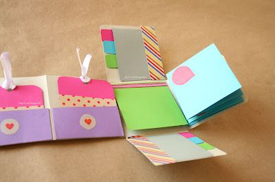 "Craftingeek*: DIY: Album Scrapbook mini-pocket ""Fold"""