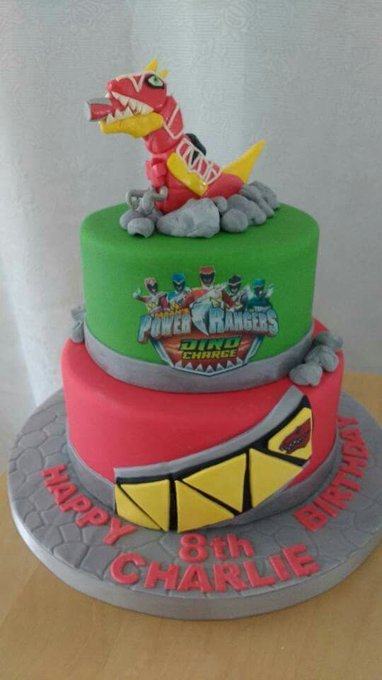 Dino charge power rangers cake                                                                                                                                                                                 More