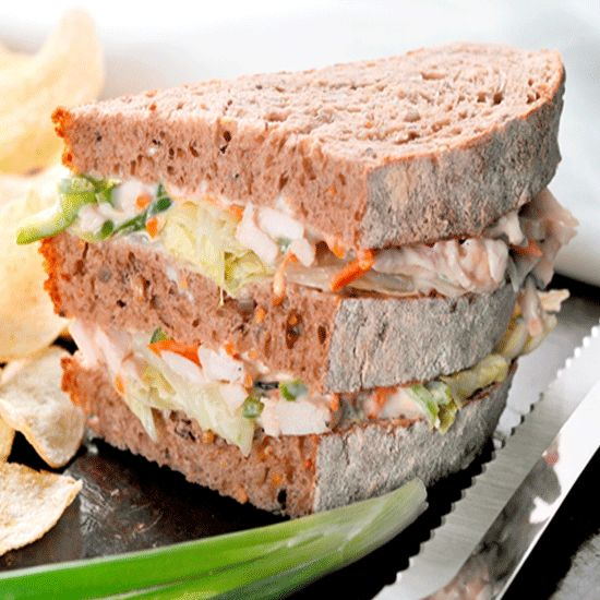 Multi Grain Yogurt Coleslaw Sandwich
