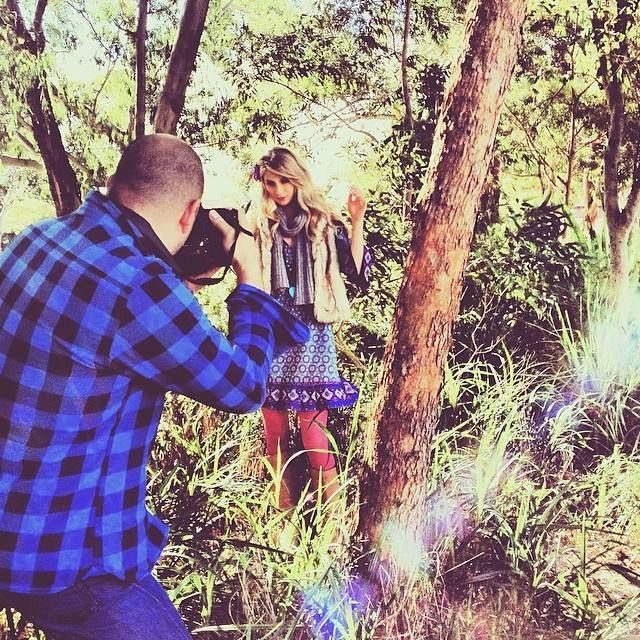 Behind the scenes at the firefly transeaonal 14 campaign shoot http://instagram.com/p/lZLwWbqzyR/