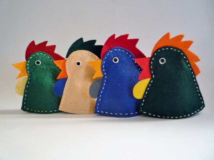 Collection of 4 Vintage Egg Warmers. €6.00, via Etsy.