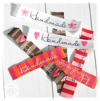 ♥♥♥Tutorial♥♥♥ Wie mache ich meine eigenen Handmade Labels How to create my own Handmade labels