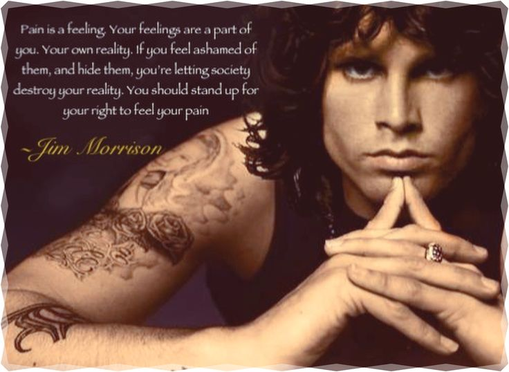 Jim Morrison quote (Made by me)