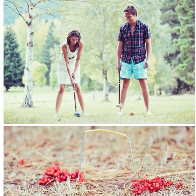 Wedding Picnic games: crochet, boules, badminton etc