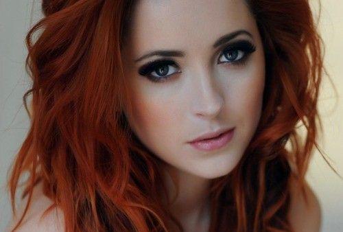 Wedding Eye Makeup For Redheads : Makeup-for-redheads-smokey.jpg (500 338) Wedding Prep ...