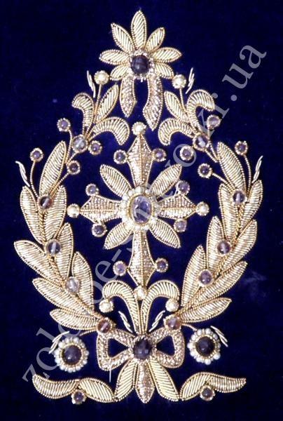 Комплект вышивки для сборки митр - Золотое Шитье