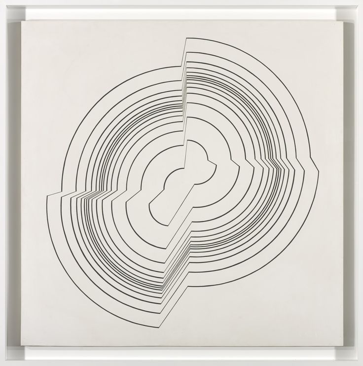 Bridget Riley – Broken Circle, 1963