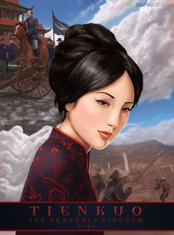 Tienkuo book cover illustration