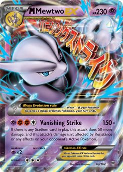 pokemon cards mega mewtwo ex - Google Search