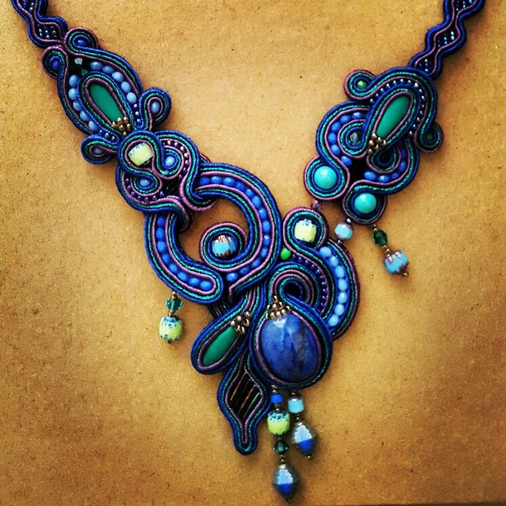 soutache necklace by Febrini Ananda Risyad