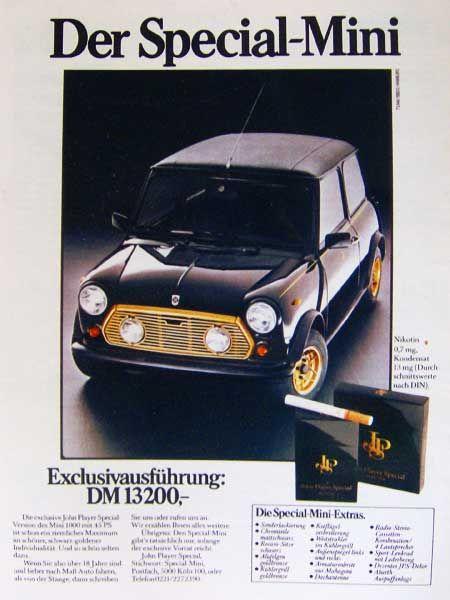 Mini Jps 1977 Mini Lifestyle Mini Mini Lifestyle Classic Mini