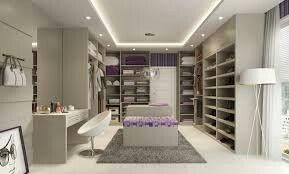 Walking closet purple design💜