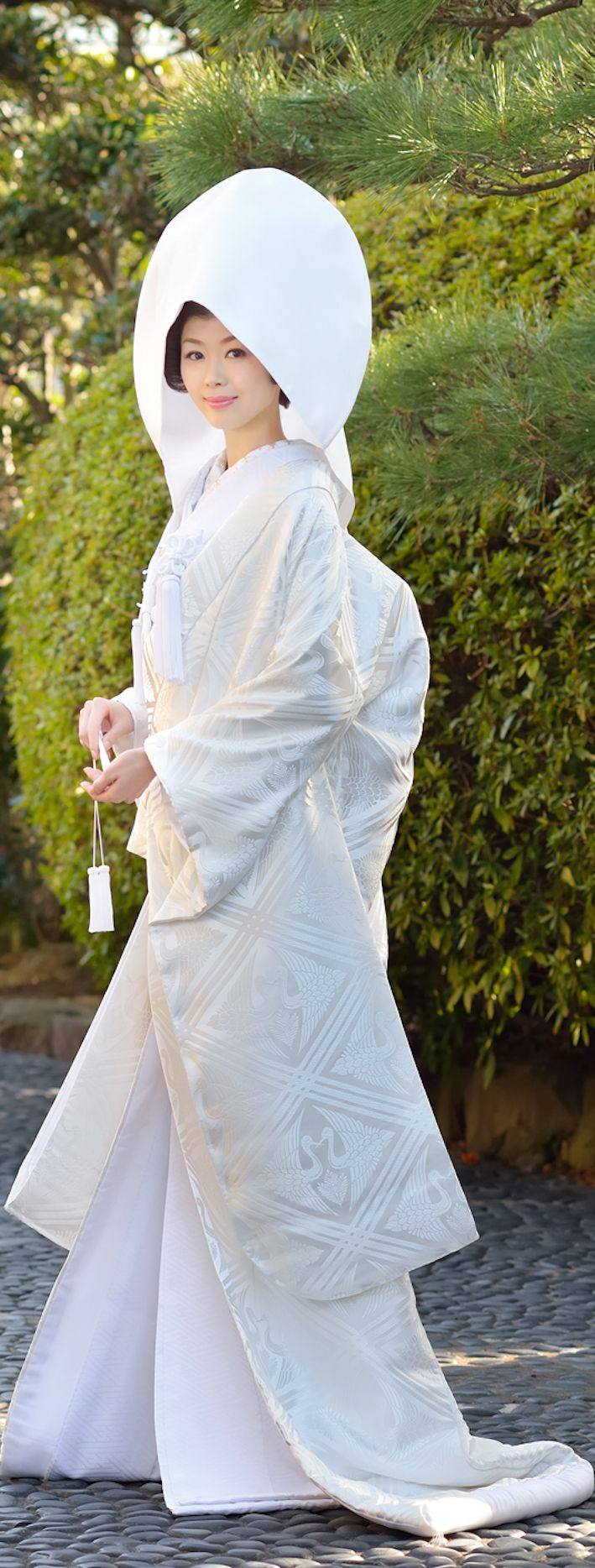 japanese traditional wedding kimono SHIROMUKU