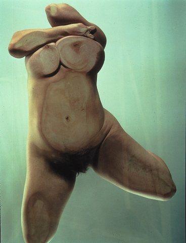 JENNY SAVILLE & GLEN LUCHFORD  Closed Contact #10, 1995-1996  // http://www.gagosian.com/exhibitions/january-12-2002--jenny-saville--glen-luchford