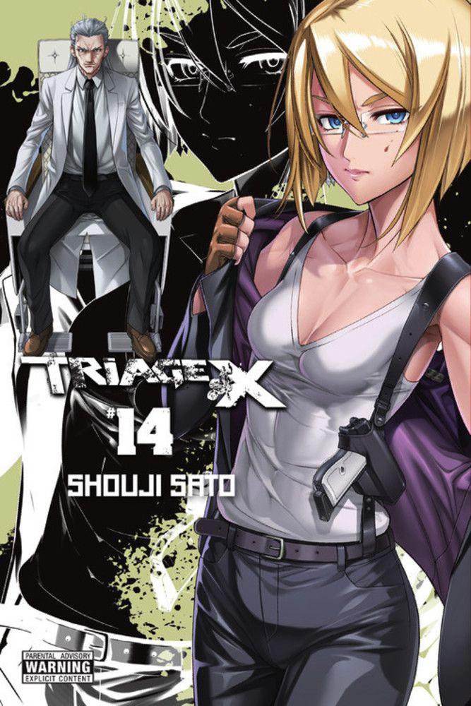 Triage X Vol. #14 Manga Review