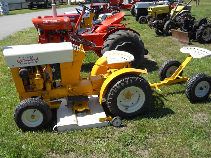 Ih Garden Tractors : Best images about custom garden tractors on pinterest