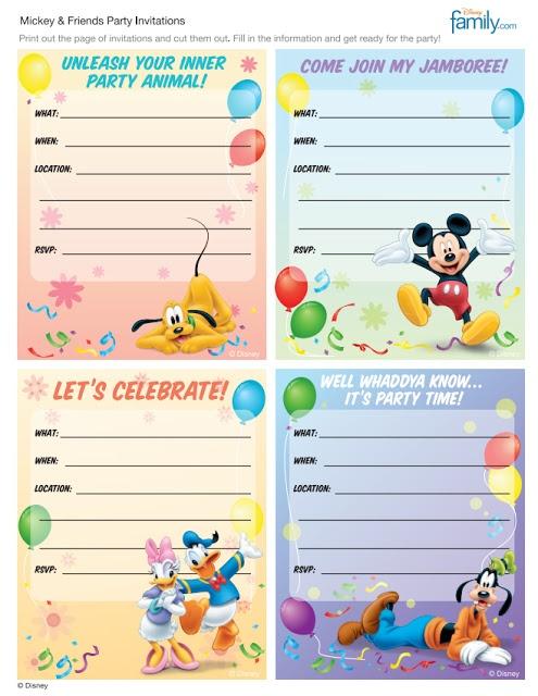 170 best free printable birthday party invitations images on, Birthday invitations