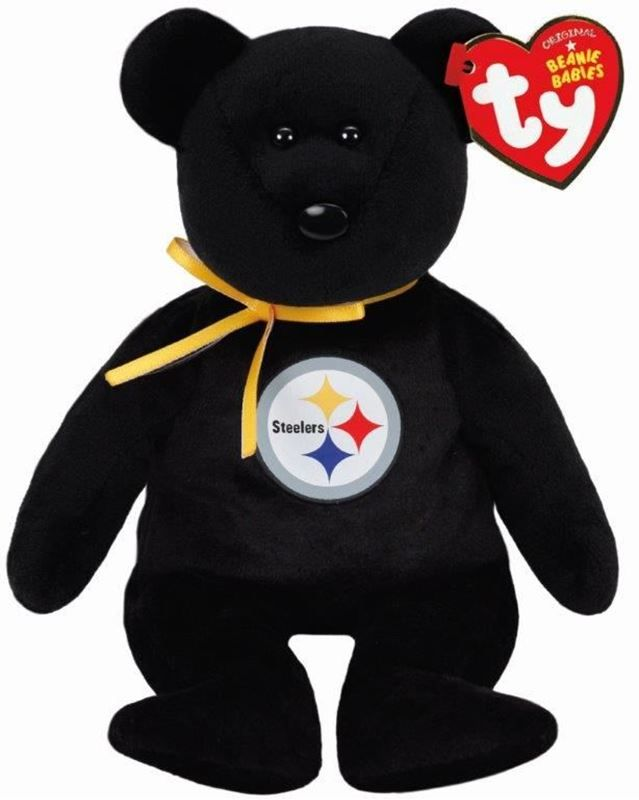 Shop the Official Steelers Pro Shop for Pittsburgh Steelers Ty Beanie Bear