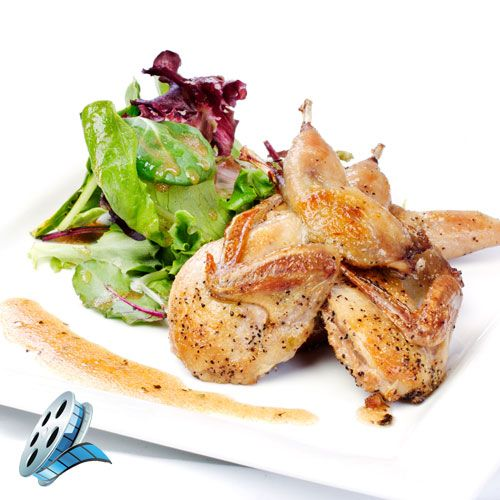 Recipe for Grilled Quail with an Asian Vinaigrette. Recipe videos from Napoleon®