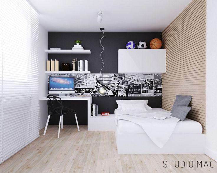 Projekt mieszkania 55 m2