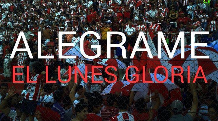 ALEGRAME EL LUNES GLORIA!! #instituto