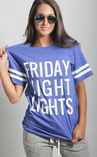 charlie southern: friday night lights jersey t shirt