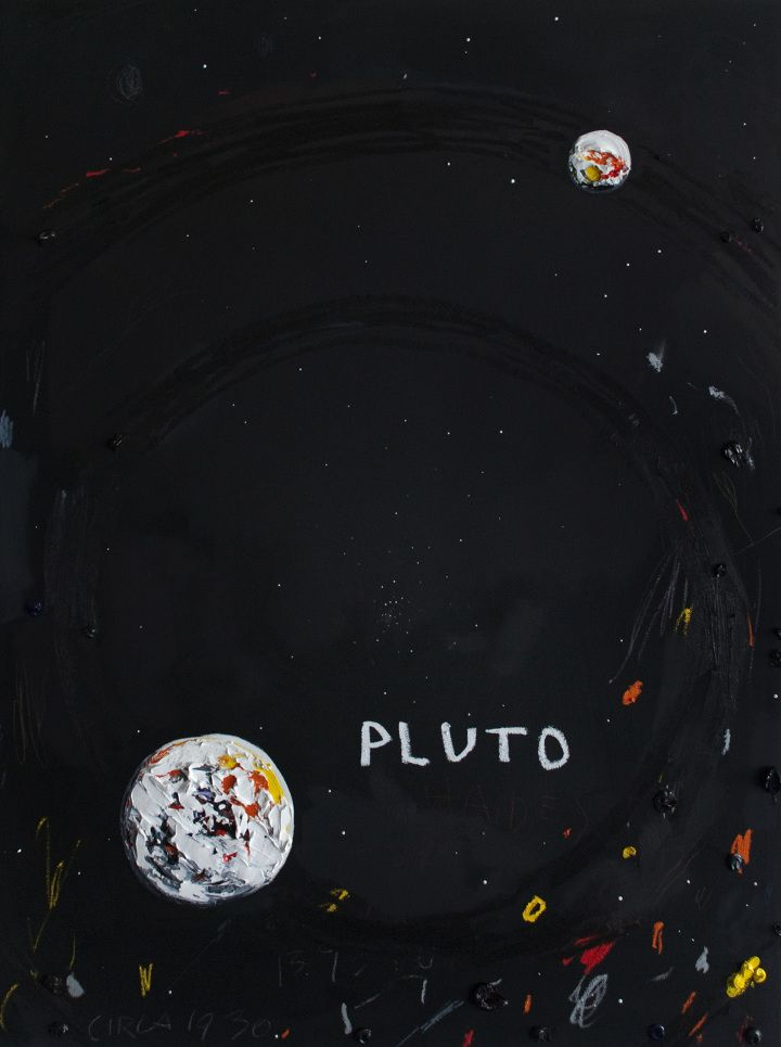 "deathorbs: "" Oil on Panel / 48 x 36 inches / Erik Olson """