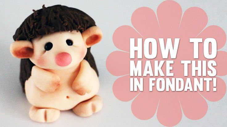 How to make a cute little Hedgehog - Cake Decorating Tutorial