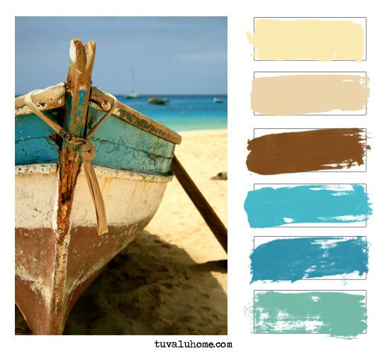 Beach colors-bedroom colors