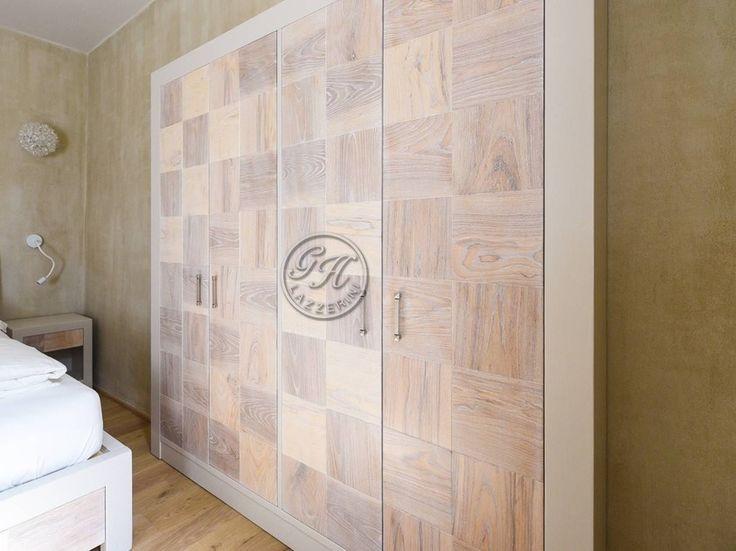 Solid wood wardrobe custom Wardrobes 4 by GH LAZZERINI