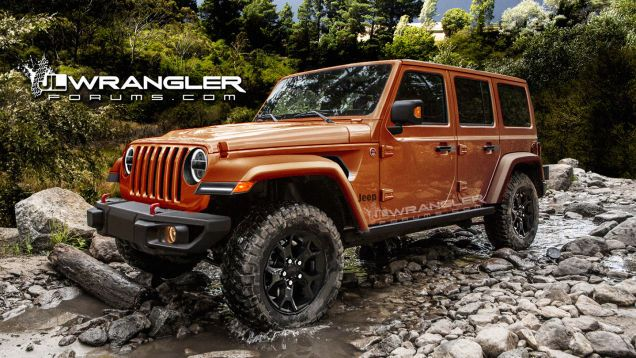 We Could See The 2018 Jeep Wrangler By As Early As November: Report