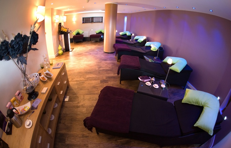 Fistral Spa Relaxation Room at The Fistral Beach Hotel and Spa #checkinchillout