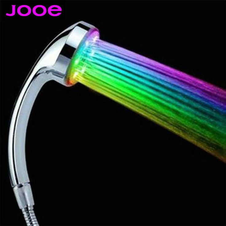 Bathroom Lighting Temperature find more shower heads information about jooe brand rainbow shower