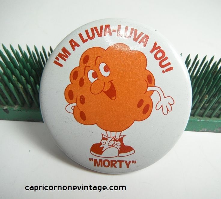 Vintage Metal Pin Morty The Meatball Mission Pasta Quot I M A