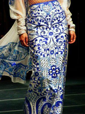 ✢ Viva México | Armando Mafud - appears inspired by Mexican Talavera Tiles.