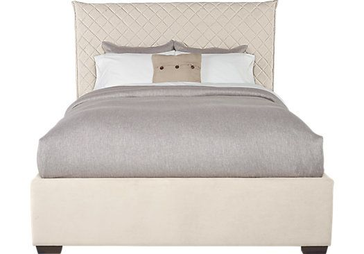 Best Picture Of Edyn Sand 3 Pc King Upholstered Bed From Beds 400 x 300
