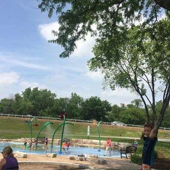 Photo of Dragonfly Landing - Lisle, IL, United States. Splash pad is open now!!