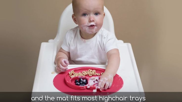 This placemat is AWESOME and worth every penny! We put it right on our baby's high chair and we almost never have a mess!  The ezpz Happy Mat Placemat has an innovative design of a silicone 3-section plate and placemat in one to make it stable and perfect for catching any mess during your baby's feeding time. Sized just right for soup, fruit, cereal and more. #affiliate #parenting #parentingwin