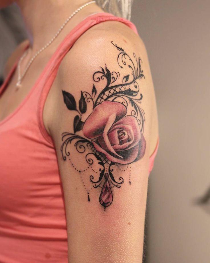 Bildresultat für Spitzentattoos für Damen #tattoo #tattoosideas #tattooart # tätow …   – Tattoo ideen