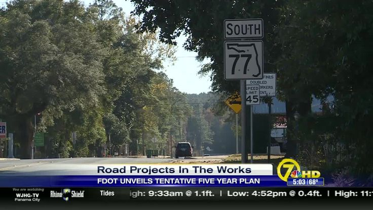 The Florida Department of Transportation laid out plans for road projects across Northwest Florida in a public meeting Monday.