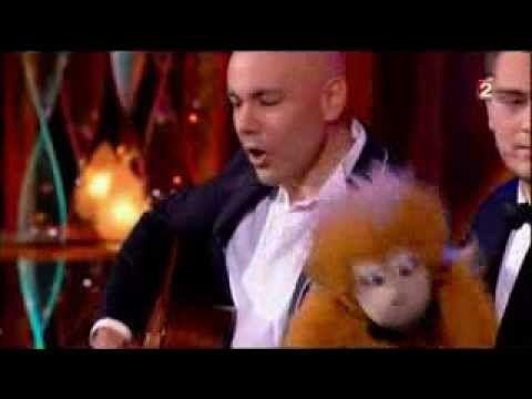 Jeff Panacloc et Jean-Marc au grand cabaret du 31 décembre 2013