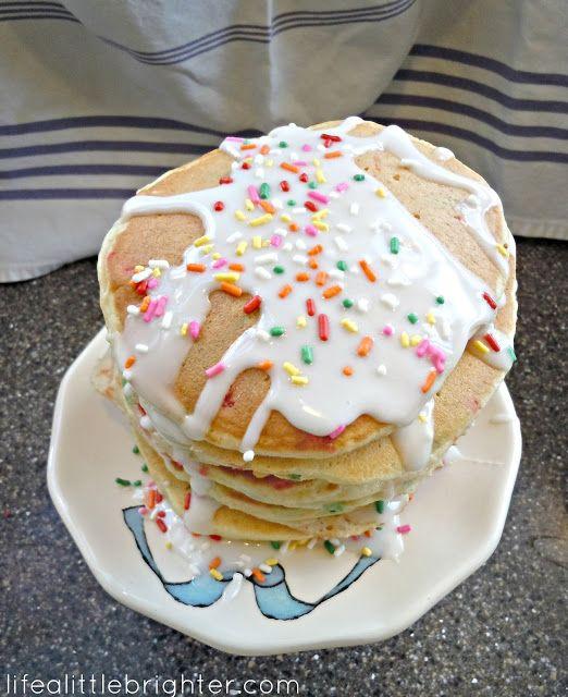 Best 25+ Birthday Cake Pancakes Ideas On Pinterest