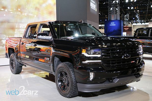 2016 chevy silverado z71 midnight edition z71 minuit chevy silverado ...