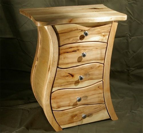 Handmade nightstand by james brauer my style pinterest for Creative nightstands
