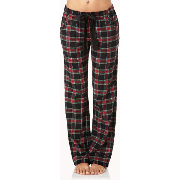 FOREVER 21 Grunge PJ Pants ($9.80) ❤ liked on Polyvore featuring intimates, sleepwear, pajamas, pants, bottoms, pijamas, plaid pajamas, forever 21 pajamas, plaid pj pants and plaid pjs