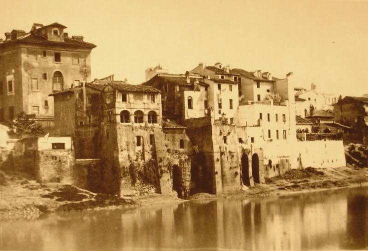 Carceri Nuove a Via Giulia, 1880: