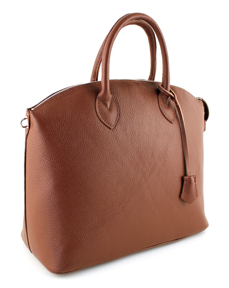 Ancona Marrone.  Stylish and simpel bag for everyday use.