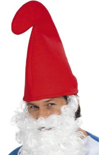 Chapéu de anão vermelho para adulto