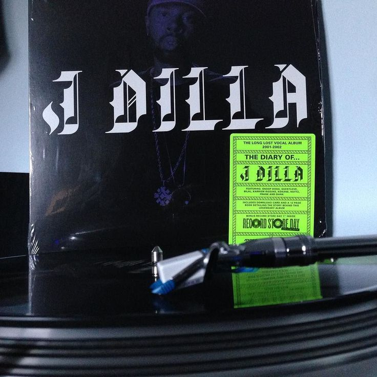 "Wasn't expecting to actually score this album but I surely lucked out.  J Dilla ""The Diary Of...J Dilla"" came with a 45 and a booklet. #recordstoreday2016 #recordcollection #nowspinning #vinyligclub #Vinyl #jdilla #thediaryofjdilla #hiphop #ripjdilla #record by vip.lex"